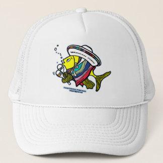 Mexican fish trucker hat