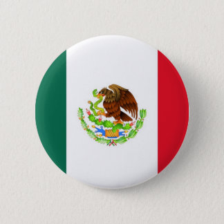 Mexican Flag 6 Cm Round Badge