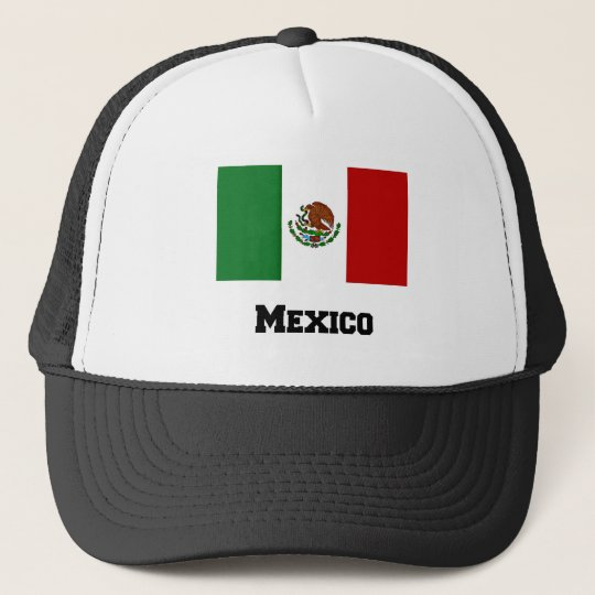 Mexican Flag and Text Cap