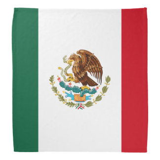 Mexican Flag Bandana