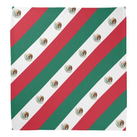 Mexican flag bandanna | Country colours of Mexico
