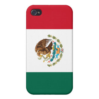 Mexican Flag Cover For iPhone 4