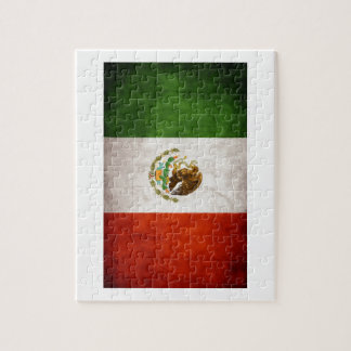 Mexican Flag Designs Jigsaw Puzzle