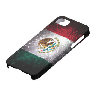 Mexican Flag Firework Barely There iPhone 5 Case