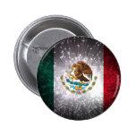 Mexican Flag Firework Buttons