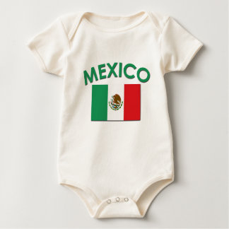 Mexican Flag (Green) Baby Bodysuit
