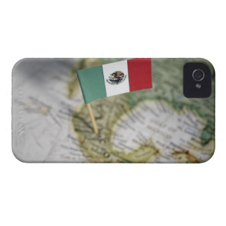 Mexican flag in map iPhone 4 cases