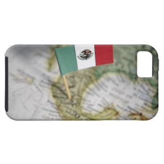 Mexican flag in map iPhone 5 cases
