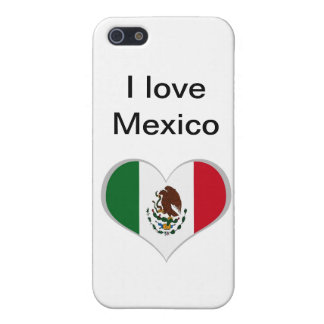 Mexican flag iPhone 5/5S cases