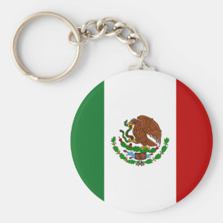 Mexican Flag Key Ring