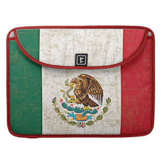 MEXICAN FLAG MacBook Pro Sleeve