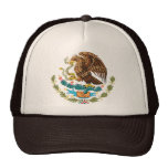 MEXICAN FLAG - MEXICO STYLE - COAT OF ARMS CAP