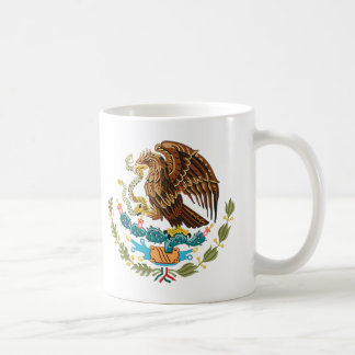 MEXICAN FLAG - MEXICO STYLE - COAT OF ARMS MUG
