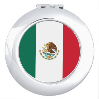 Mexican flag Mirror Travel Mirrors