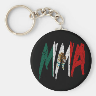 Mexican Flag MMA Key Ring