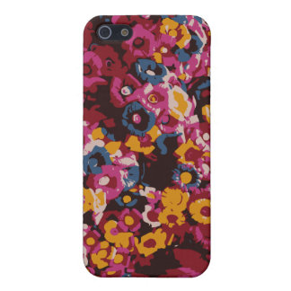 Mexican flowers iPhone 5/5S cases