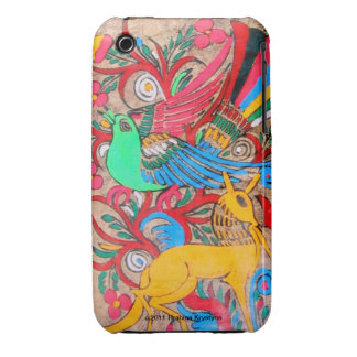 MEXICAN FOLK ART Case-Mate iPhone 3 CASES