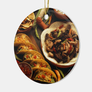 Mexican Food Christmas Ornament