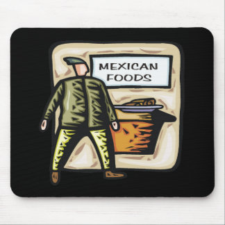 Mexican Food Cinco de Mayo T-shirts and Gifts Mouse Pad