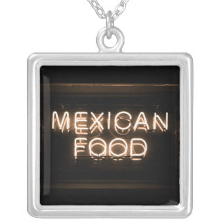 MEXICAN FOOD -Yellow Neon Sign Pendants