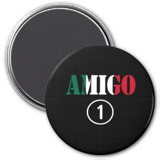 Mexican Friends : Amigo Numero Uno Refrigerator Magnet