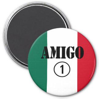 Mexican Friends : Amigo Numero Uno Fridge Magnets
