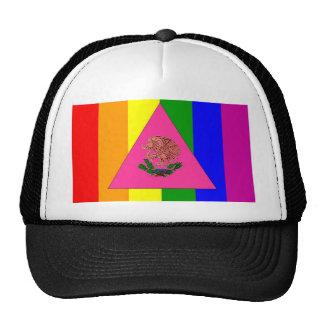 Mexican Gay Pride Flag Cap