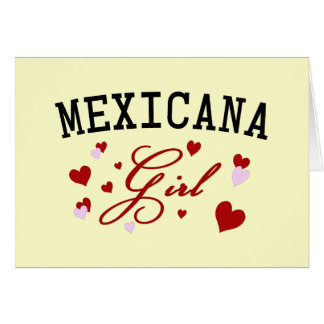 Mexican Girl Cards