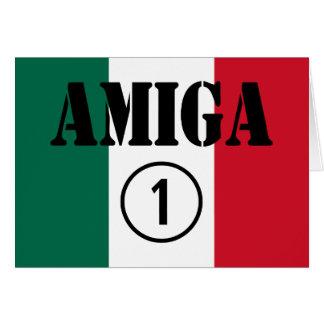 Mexican Girl Friends : Amiga Numero Uno Card