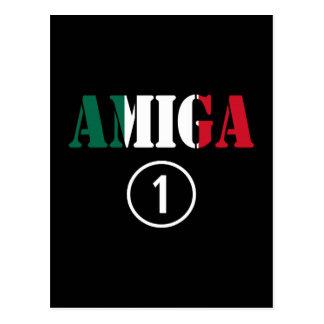 Mexican Girl Friends : Amiga Numero Uno Postcard