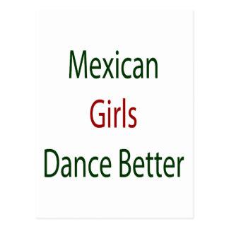 Mexican Girls Dance Better Postcard