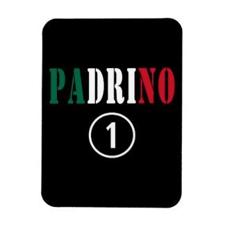 Mexican Godfathers Padrino Numero Uno Magnet