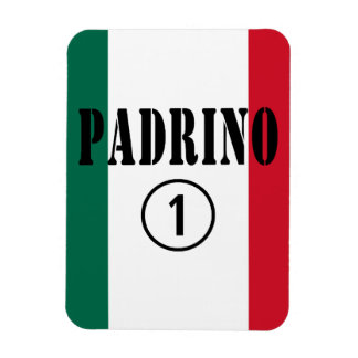 Mexican Godfathers Padrino Numero Uno Rectangle Magnets