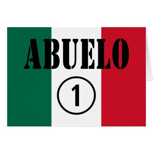 Mexican Grandfathers : Abuelo Numero Uno Cards