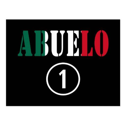 Mexican Grandfathers : Abuelo Numero Uno Post Cards