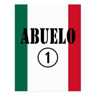 Mexican Grandfathers Abuelo Numero Uno Post Cards