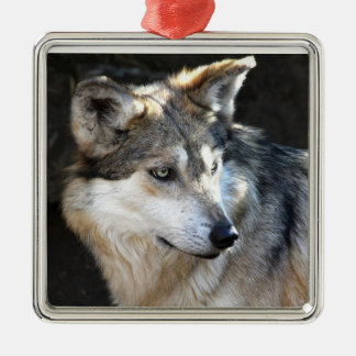 Mexican Gray Wolf Christmas Ornament