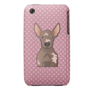 Mexican Hairless Dog Cartoon Case-Mate iPhone 3 Case