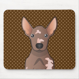 Mexican Hairless Dog Xoloitzcuintle Mouse Pad
