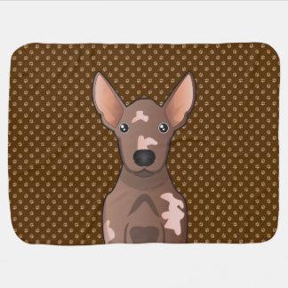Mexican Hairless Dog (Xoloitzcuintle) Pramblankets