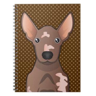 Mexican Hairless Dog (Xoloitzcuintle) Spiral Notebook