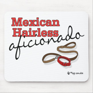 Mexican Hairless Mouse Pads