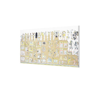 Mexican Hieroglyphics from Vues des Cordillieres Gallery Wrapped Canvas