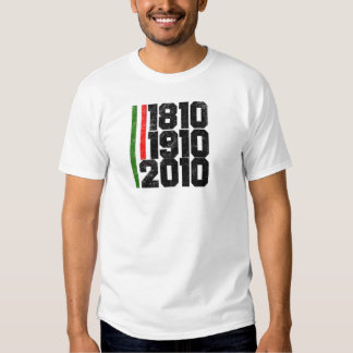 Mexican Historical Dates T Shirt