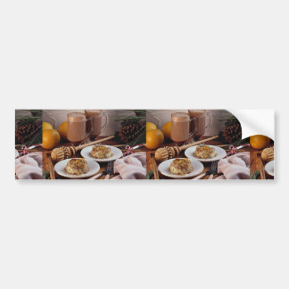 Mexican holiday desserts bumper stickers