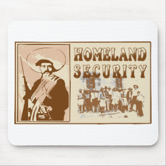Mexican Homeland Security Mouse Mat