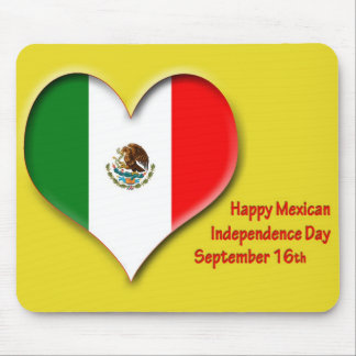 Mexican Independence Day Mousepad September 16