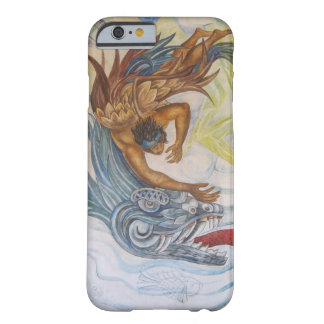 Mexican Indian and dragon Design Barely There iPhone 6 Case