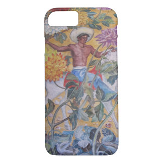 Mexican Indian mural Design iPhone 7 Case