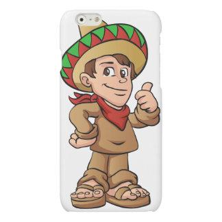 mexican kid cartoon. iPhone 6 plus case